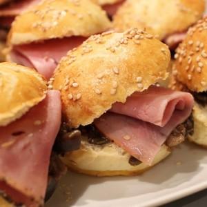 Recette Mini burgers au pastrami