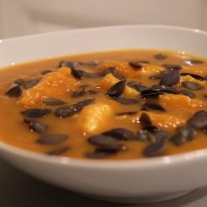 Recette Soupe de poisson au butternut épicé