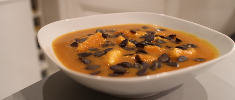 soupe de poisson au butternut pic my beautiful dinner. Black Bedroom Furniture Sets. Home Design Ideas