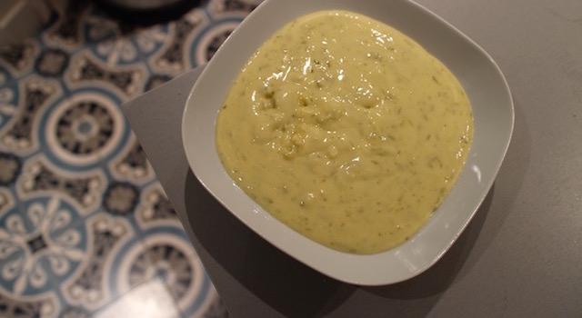 appareil tarte au citron vert - Tiramisu coco citron vert