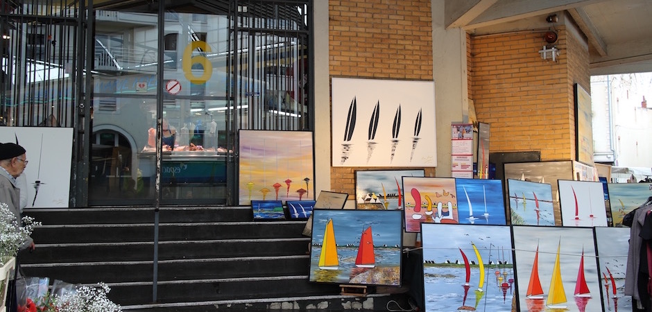 art mer atlantique - Le marché de Talensac - la visite foodie à Nantes