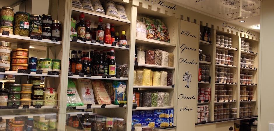 caverne d'ali baba épicerie fine - Le marché de Talensac - la visite foodie à Nantes