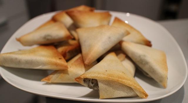 cuisson au four sans graisse - Bestels la recette des samoussas Pieds-Noirs