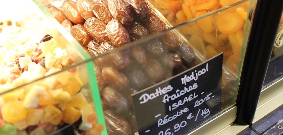 dates medjool israel- Le marché de Talensac - la visite foodie à Nantes