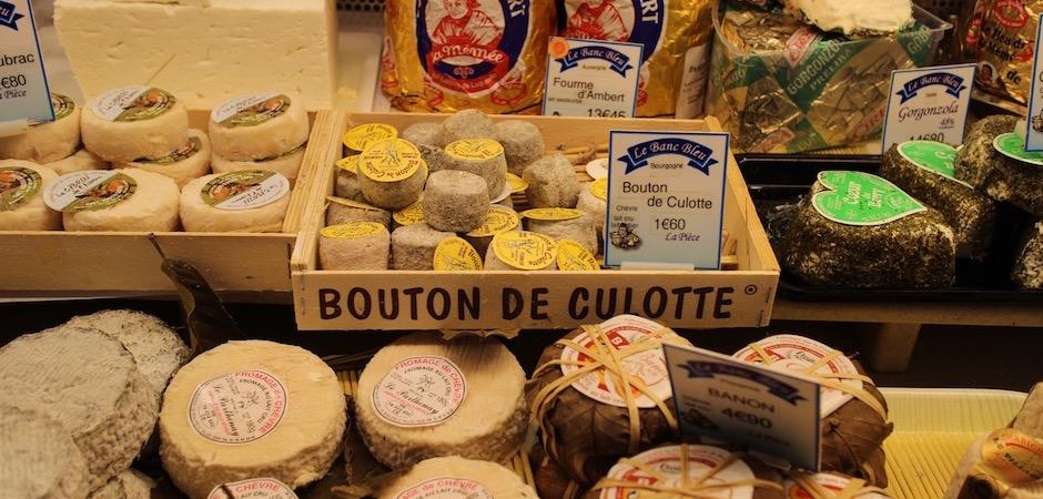 fromage bouton de culotte - Le marché de Talensac - la visite foodie à Nantes