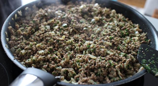 laisser cuire la viande - Bestels la recette des samoussas Pieds-Noirs