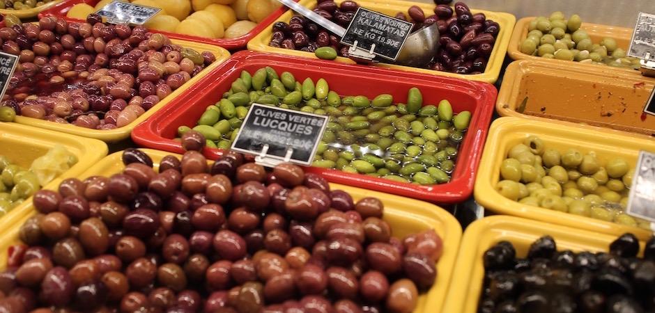olives du monde - Le marché de Talensac - la visite foodie à Nantes