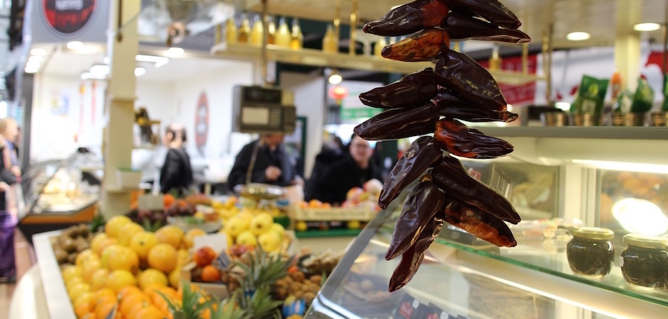 piment d'espelette traditionnel - Le marché de Talensac - la visite foodie à Nantes