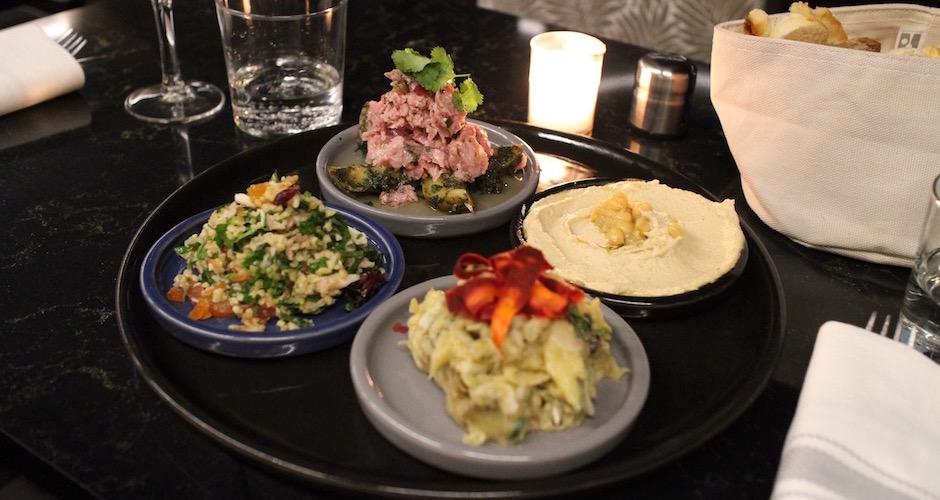 Mezzelse assortiment de mezze - Maison Else - table tendance parisienne