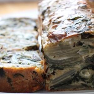Recette Cake aux blettes et au fromage de chèvre