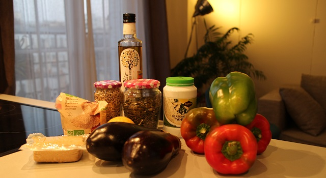 ingrédients Recette Salade bien dans ma tête et dans mon corps