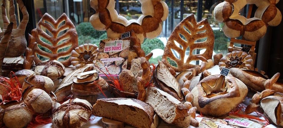 Variété de pains préparée par la boulangerie l'essentiel - Le pain, Anthony Bosson, L'Essentiel et la fête des pains