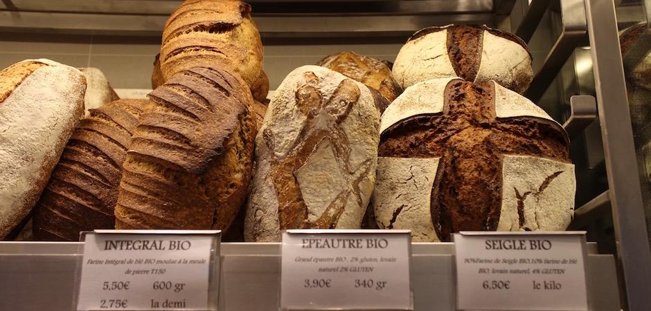 pains originaux farines différentes - préparation du pain - Le pain, Anthony Bosson, L'Essentiel et la fête des pains