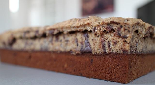 démouler le brookie refroidi - Brookie - le gâteau de folie