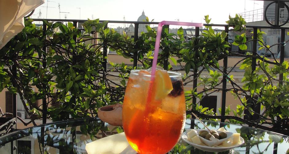 meilleur spritz avec vue sur le Vatican - Souvenir culinaire - Mes meilleures expériences