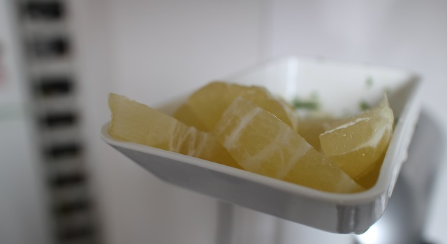 mixer le citron - Jus vert detox