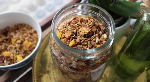 petit déjeuner parfait - Granola énergétique - acidulé