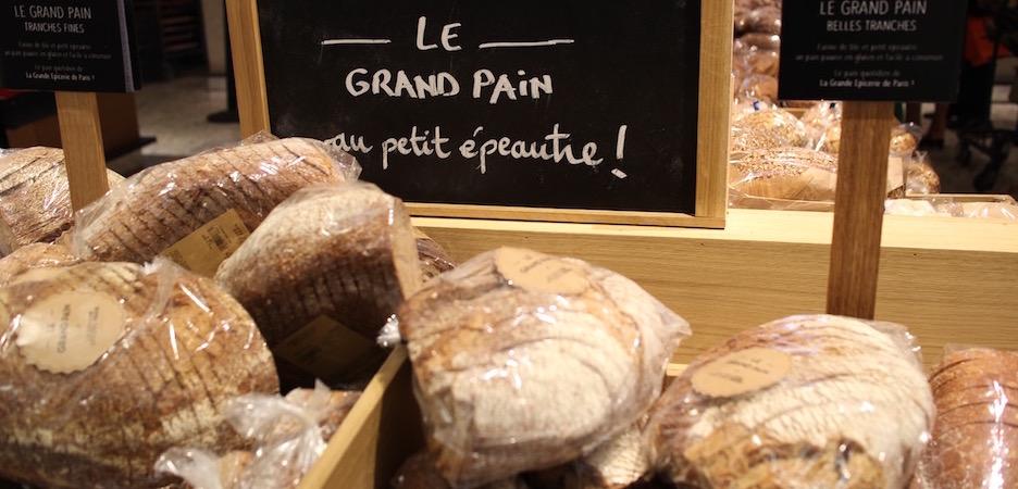 grand pain au petit épautre - Découverte la nouvelle grande épicerie de Paris