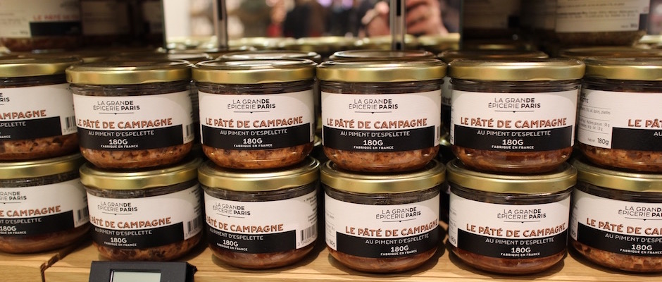 paté de campagne au piment d'espelette - Découverte la nouvelle grande épicerie de Paris