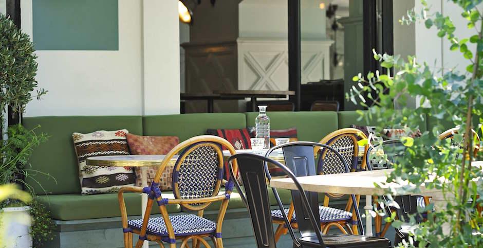 terrasse - Restaurant Auteuil Brasserie mon QG de l'été
