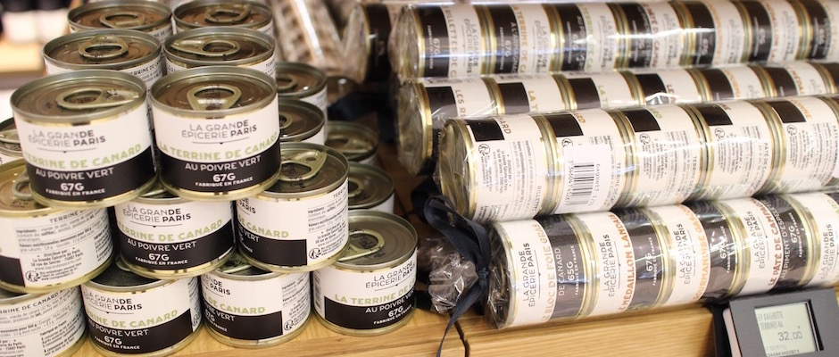 terrine de canard - Découverte la nouvelle grande épicerie de Paris