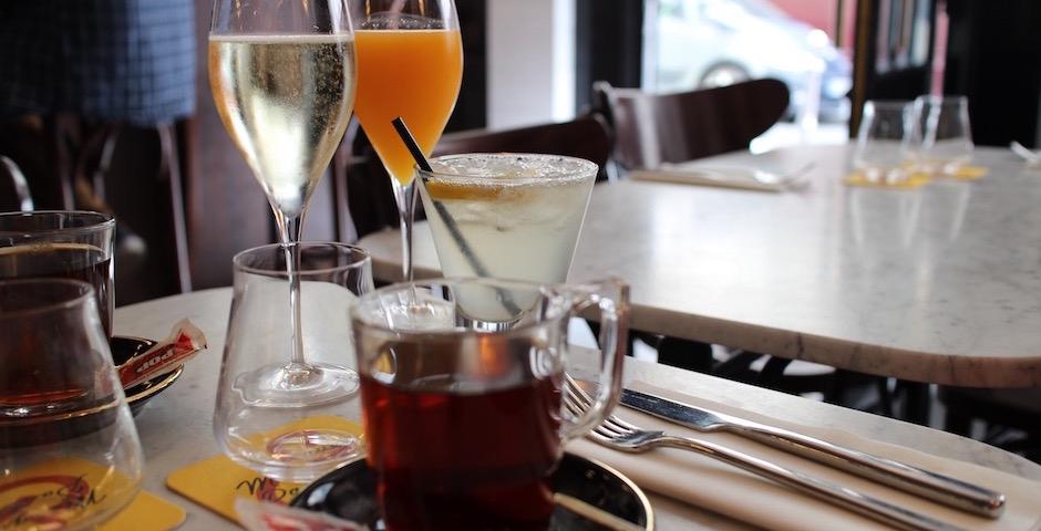 thé à la menthe - Brunch d'amour Merguez et Pastrami
