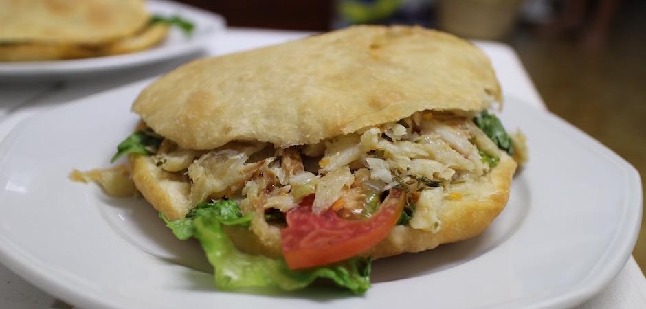 bokit morue - Voyage foodie à Saint Barth