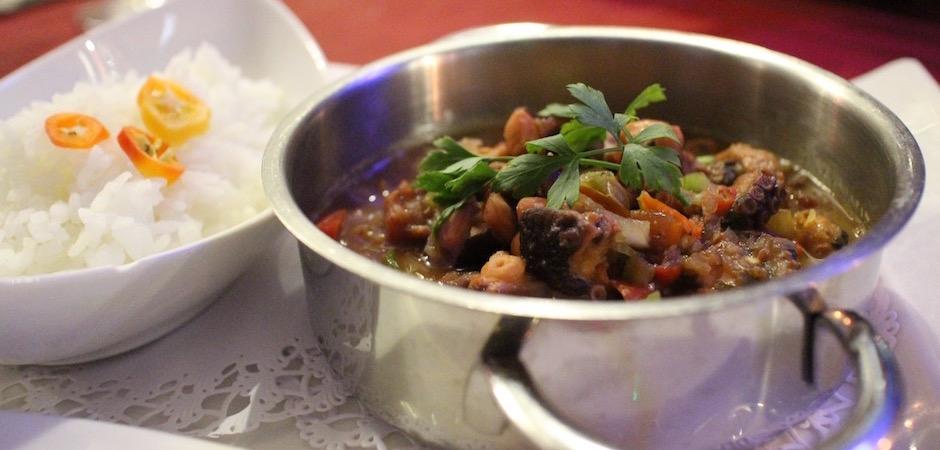 cassolette de poulpe - Voyage foodie à Saint Barth