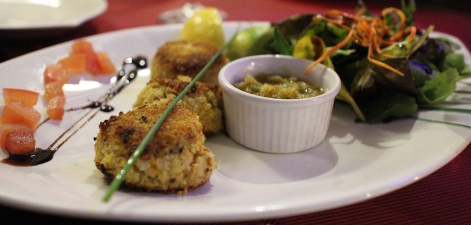 croquettes de crabe - Voyage foodie à Saint Barth