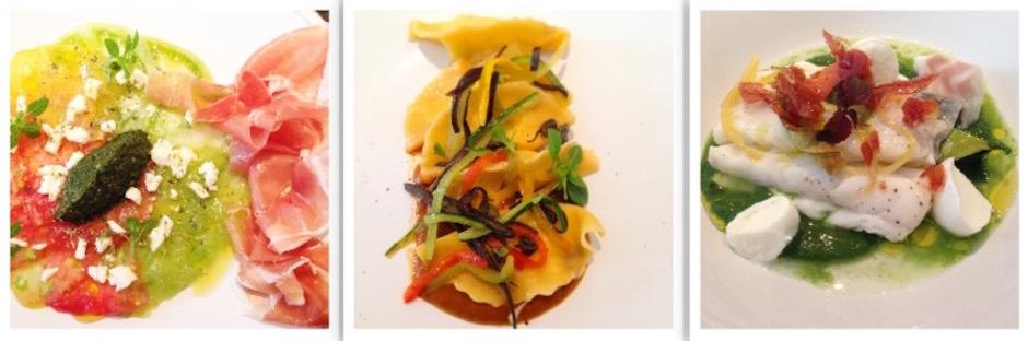 plats roberto rispoli royal monceau - Parmesan jambon de Parme à l'Ambassade d'Italie