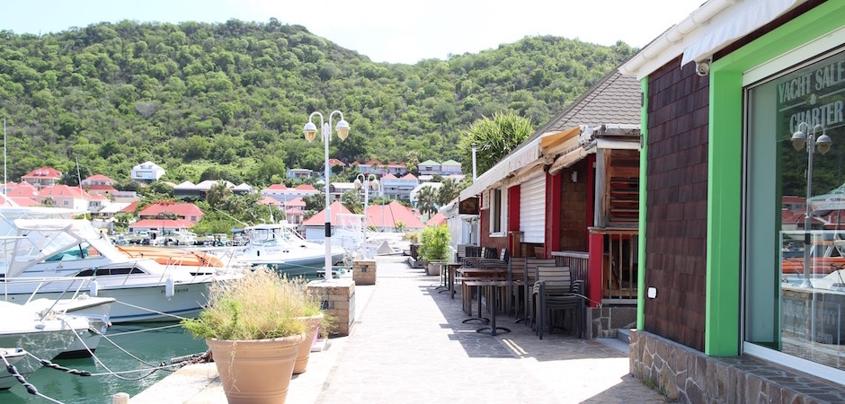 port de gustavia - Voyage foodie à Saint Barth