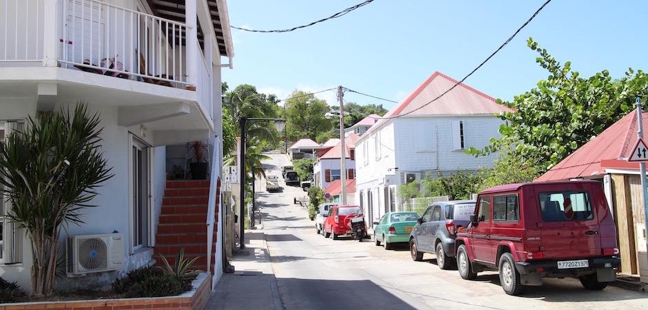 rue de gustavia - Voyage foodie à Saint Barth