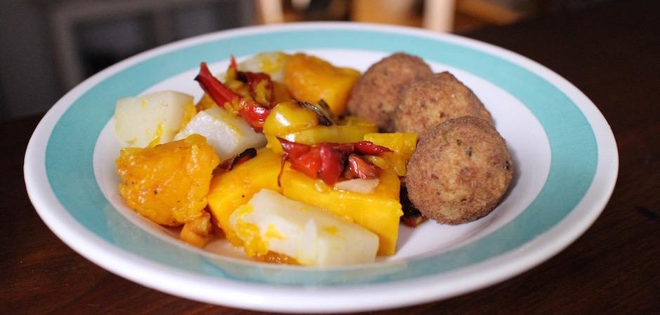 salade maison recette - Voyage foodie à Saint Barth