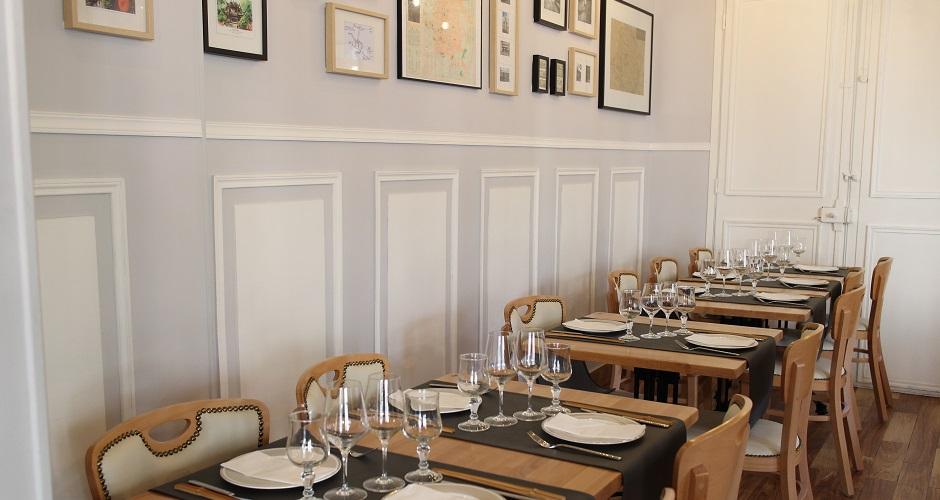 tables dressées - Restaurant Les Saveurs du Sichuan