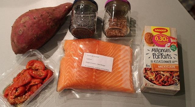 ingredients-healthy-saumon-pavot-graines-de-lin-patate-douce