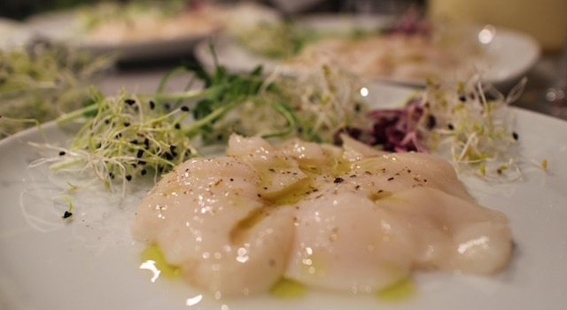 Carpaccio de coquilles saint jacques my beautiful dinner - Vin avec coquilles saint jacques ...