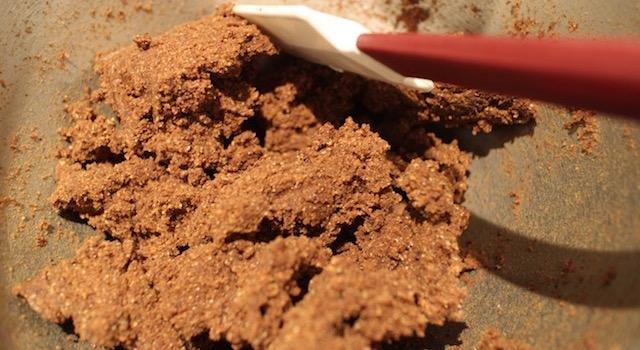 réaliser la pate sablée à la noisette - tartelette-noisette-chocolat-au-lait