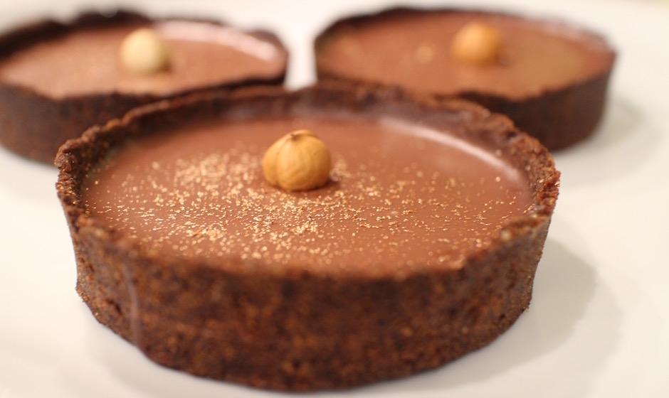 tartelette chocolat noisette - Moi Chef - Qui sera le Chef