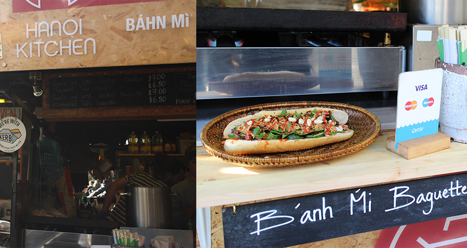 Banh Mi - Camden street food market - London
