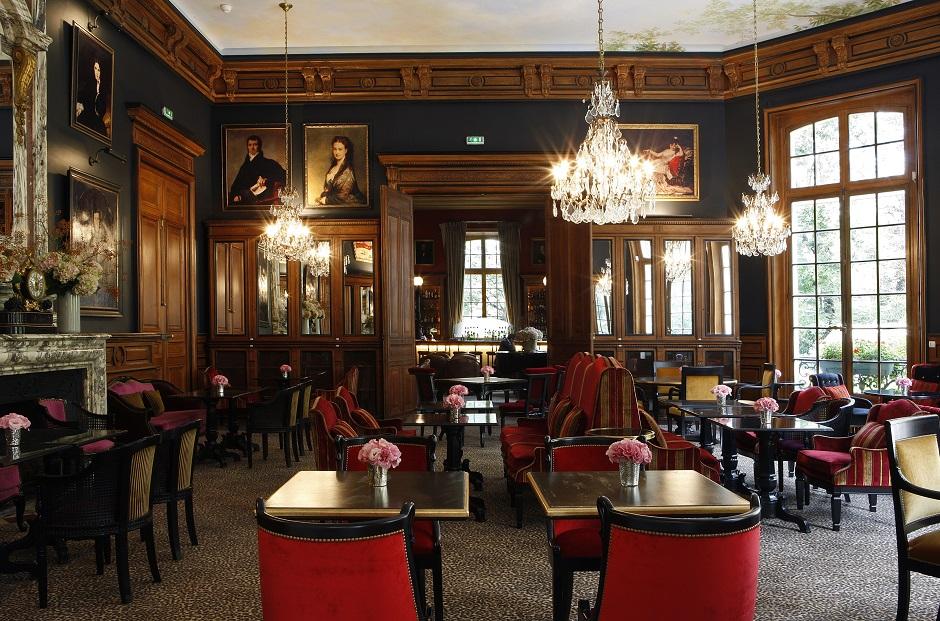 Saint-James-Paris salle restaurant- Restaurant Saint-James Paris l'étoilé secret