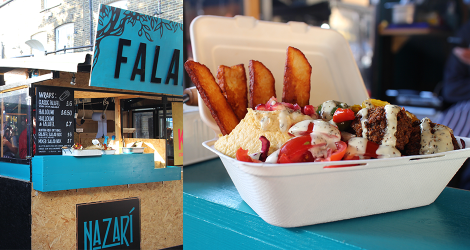 falafel - Camden street food market - London
