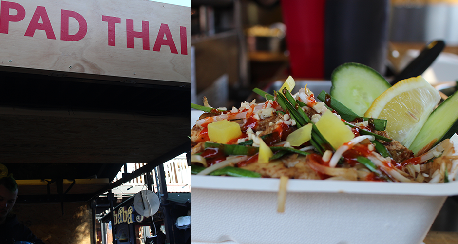 pad thai - Camden street food market - London