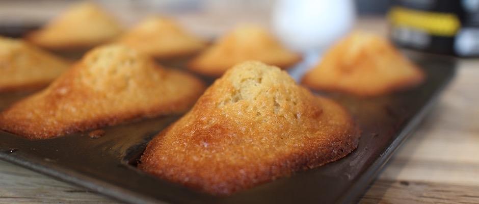 recette Madeleines à l'Orange douce et au Miel de Manuka