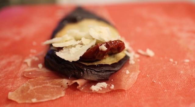 rouler le maki - Makis a l'italienne au jambon de parme