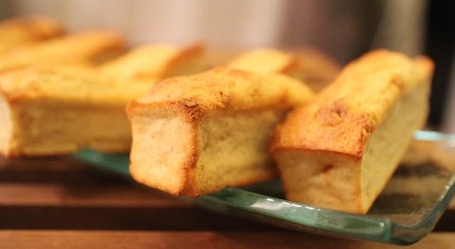 servir les Ananas moelleux en gâteau