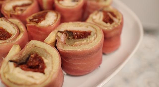 tomate sechee parmesan - Makis a l'italienne au jambon de parme