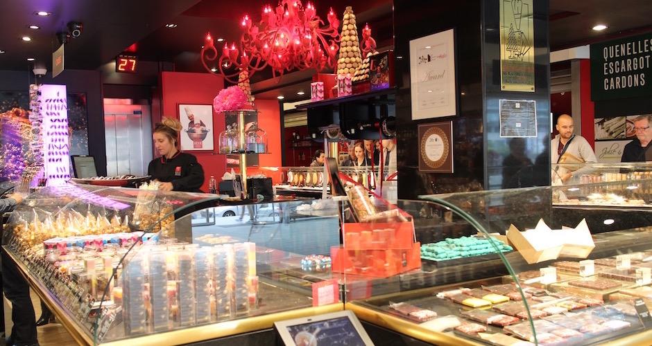 Sève mon pâtissier chouchou - Visite guidée des halles de Lyon Paul Bocuse