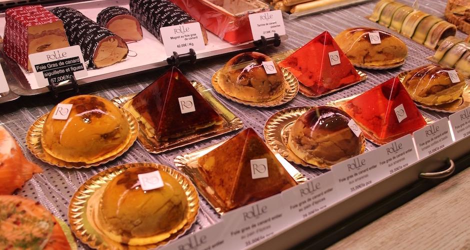 foie gras en gelée traiteur - Visite guidée des halles de Lyon Paul Bocuse