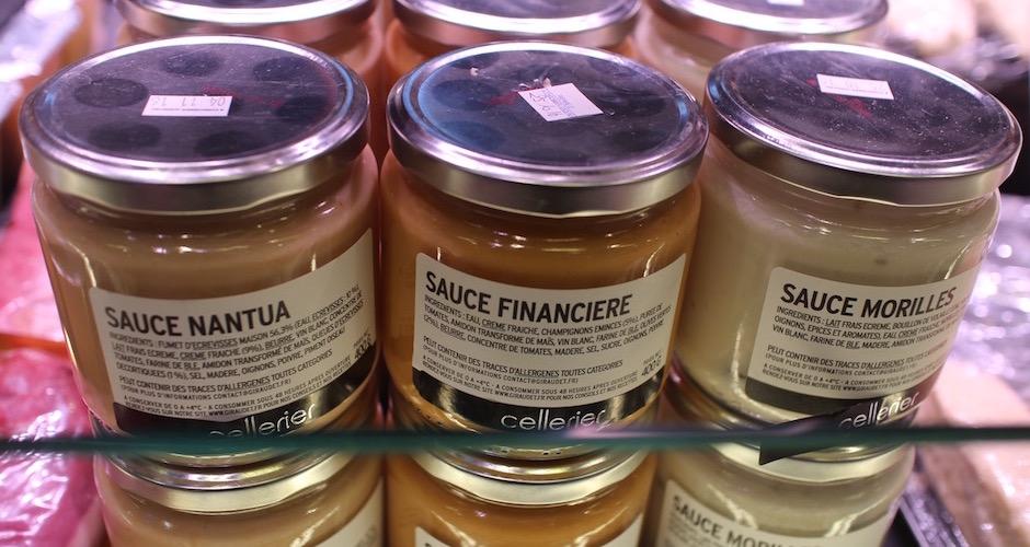 sauce nantua -Visite guidée des halles de Lyon Paul Bocuse