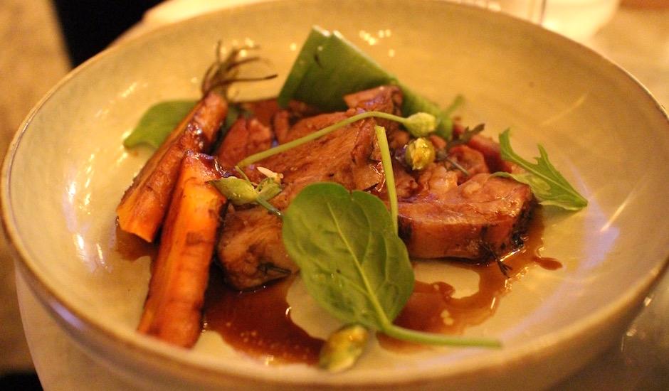 agneau bio - Restaurant Les fauves - exotic chic à Montparnasse